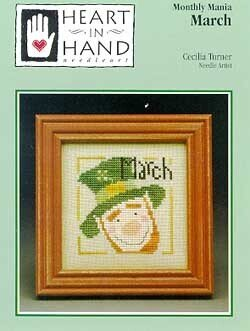 Monthly Mania March - Cross Stitch Pattern