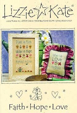 Faith Hope Love - Cross Stitch Pattern
