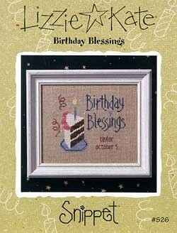 Birthday Blessings - Cross Stitch Pattern