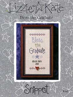 Bless the Graduate - Cross Stitch Pattern