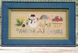 Welcome All Seasons - Cross Stitch Pattern