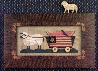 Delivering Summer - Cross Stitch Pattern
