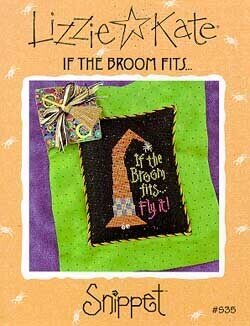 If the Broom Fits - Cross Stitch Pattern