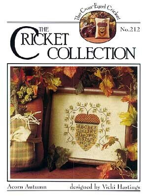 Acorn Autumn #212 - Cross Stitch Pattern