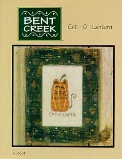 Cat-O-Lantern - Cross Stitch Pattern