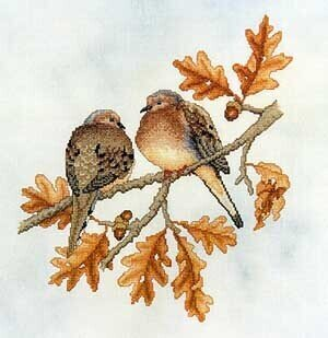 Mourning Doves - Cross Stitch Pattern