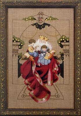 Christmas Wishes - Mirabilia Cross Stitch Pattern