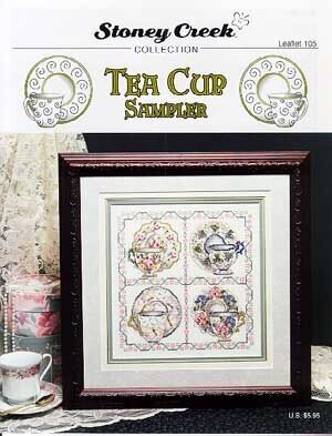 Tea Cup Sampler - Cross Stitch Pattern