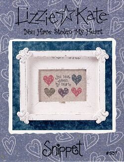You Have Stolen My Heart - Cross Stitch Pattern