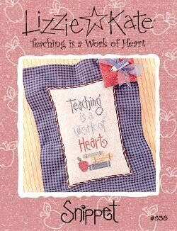Teaching is a Work of Heart - Cross Stitch Pattern