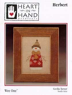Herbert (wee one) - Cross Stitch Pattern