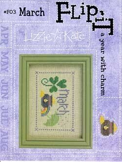 Flip-It Charm March - Cross Stitch Pattern