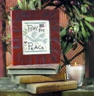 Pray For Peace - Cross Stitch Pattern