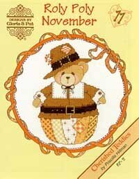 Roly Poly November - Cross Stitch Pattern