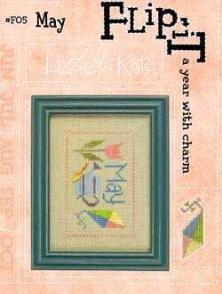 Flip-It Charm May - Cross Stitch Pattern
