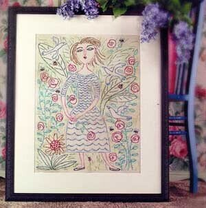 Le Printemps - Cross Stitch Pattern