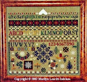 Winter Sampler - Cross Stitch Pattern