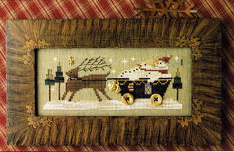 Delivering Winter - Cross Stitch Pattern