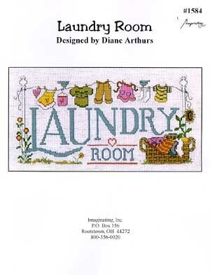 Laundry Room - Cross Stitch Pattern