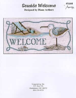 Seaside Welcome - Cross Stitch Pattern