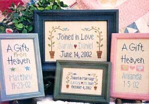 Make It Personal - Cross Stitch Pattern