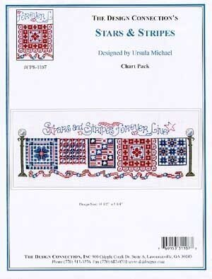 Stars and Stripes - Cross Stitch Pattern