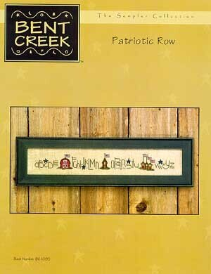 Patriotic Row - Cross Stitch Pattern