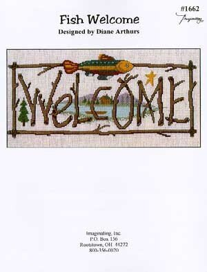 Fish Welcome - Cross Stitch Pattern