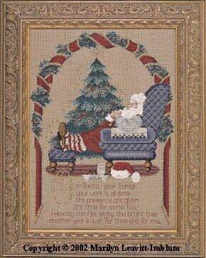 Secret Santa - Cross Stitch Pattern