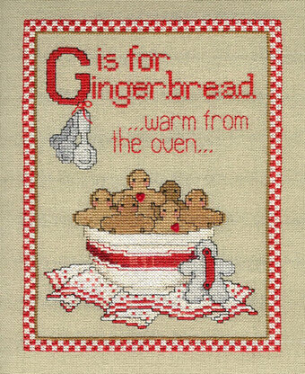 Gingerbread's Ready - Cross Stitch Pattern