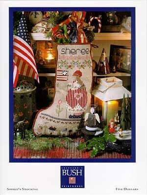 Sheree's Stocking - Cross Stitch Pattern