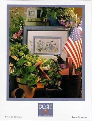 Summer Garden - Cross Stitch Pattern