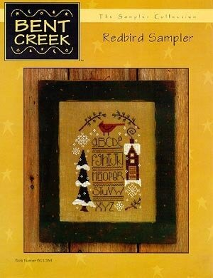 Red Bird Sampler - Cross Stitch Pattern