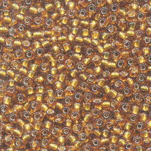 Mill Hill 02048 Golden Olive Glass Beads - Size 11/0