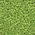Mill Hill 02066 Crayon Seed Beads - Yellow Green - Size 11/0