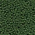 Mill Hill 02094 Opaque Moss Glass Beads - Size 11/0
