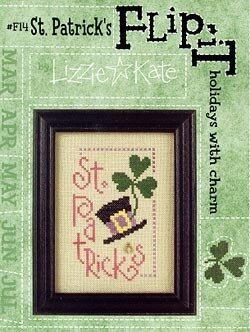 Flip-It St Patrick's Day - Cross Stitch Pattern