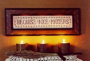 Nice Matters - Cross Stitch Pattern