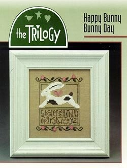 Happy Bunny Bunny Day - Cross Stitch Pattern