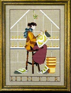 Winter In My Garden - Mirabilia Cross Stitch Pattern