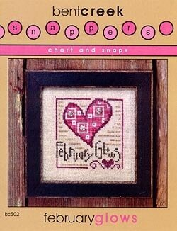 February Glows - Cross Stitch Pattern