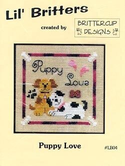 Puppy Love - Cross Stitch Pattern