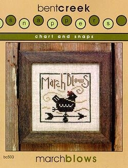 March Blows - Snappers - Cross Stitch Patte