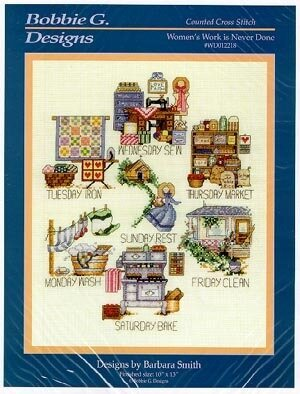 Women's Work Is Never Done - Cross Stitch Pattern