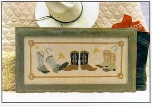 Cowboy Boots - Cross Stitch Pattern