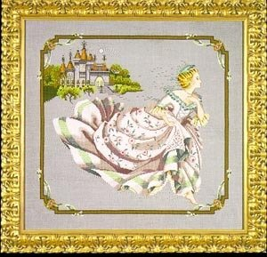 Cinderella - Mirabilia Cross Stitch Pattern