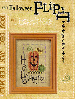 Flip-It Halloween - Cross Stitch Pattern