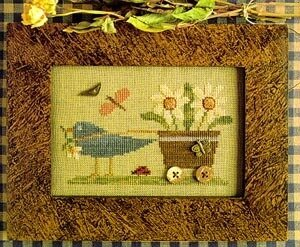 Delivering Posies - Cross Stitch Pattern