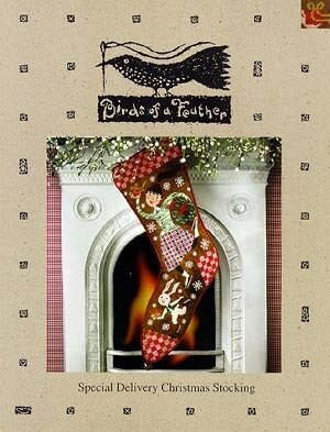 Special Delivery Christmas Stocking - Cross Stitch Pattern