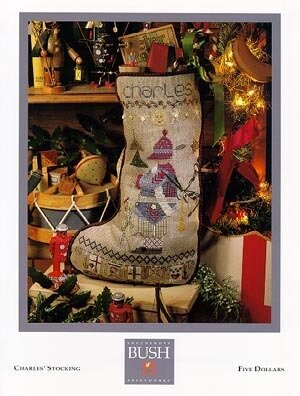 Charles Stocking - Cross Stitch Pattern